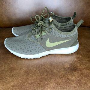 Nike Free Juvenate Olive Running Sneakers Size 7.5